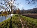 Podzimní Slunce ve Svitavě v Blansku.