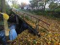 Most přes Svitavu dole v Doubravici.
